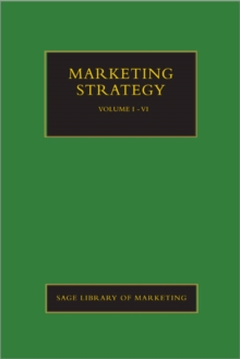 Marketing Strategy, Hardback Book
