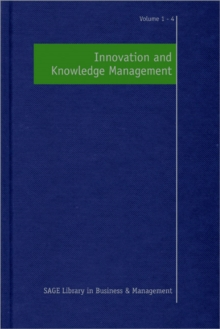 Innovation and Knowledge Management, Hardback Book