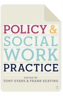 Policy and Social Work Practice, Hardback Book