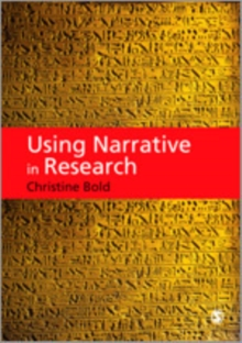 Using Narrative in Research, Hardback Book