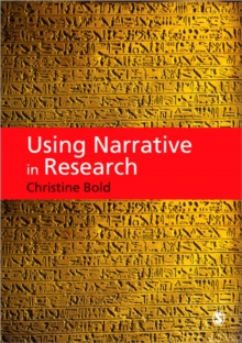 Using Narrative in Research, Paperback / softback Book