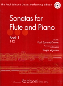 RABBONI SONATAS FOR FLUTE PIANO, Paperback Book