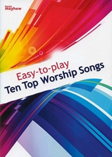 EASY TO PLAY TOP 10 WORSHIP SONGS, Paperback Book
