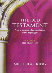 OLD TESTAMENT VOL 4 THE PROPHETS, Hardback Book