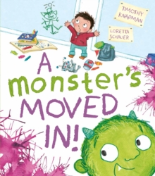 A Monster's Moved in!, Paperback Book