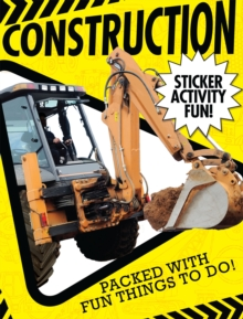 Construction Sticker Activity Fun, Paperback / softback Book