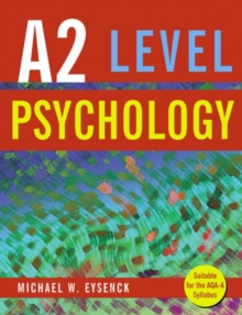 A2 Level Psychology, Paperback Book