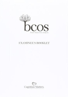 BCoS Cognitive Screen : Examinee's Booklet (Pack of 15), Paperback / softback Book