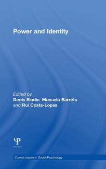 Power and Identity : Perspectives from the social sciences, Hardback Book