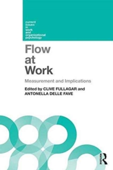 Flow at Work : Measurement and Implications, Paperback / softback Book