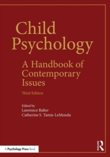 Child Psychology : A Handbook of Contemporary Issues, Paperback Book