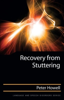 Recovery from Stuttering, Hardback Book