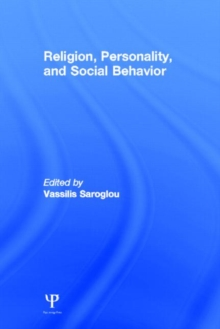 Religion, Personality, and Social Behavior, Hardback Book