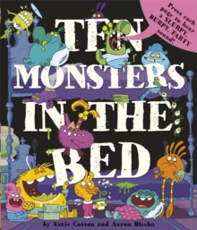 10 Monsters in the Bed, Hardback Book
