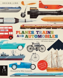 Planes, Trains & Automobiles : Design Line, Paperback Book