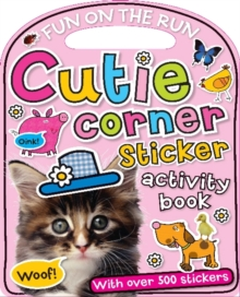 Cutie Corner Sticker Activity Book, Paperback / softback Book