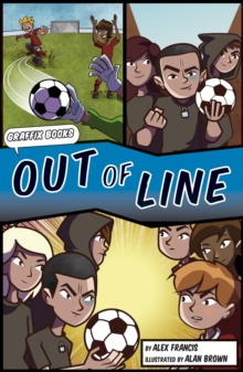 Out of Line [Graphic Reluctant Reader], Paperback Book
