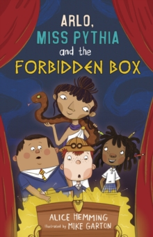 Arlo, Miss Pythia and the Forbidden Box, Paperback / softback Book