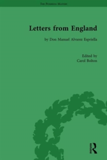 Letters from England : by Don Manuel Alvarez Espriella, Hardback Book