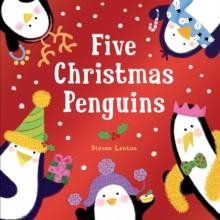 Five Christmas Penguins, Board book Book