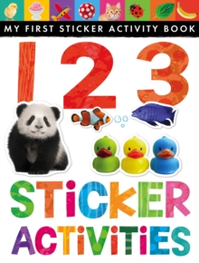 123 Sticker Activities, Novelty book Book