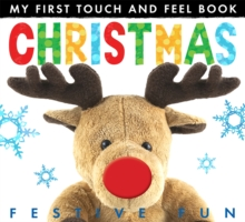My First Touch and Feel Book: Christmas, Novelty book Book