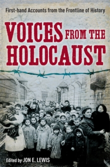 Voices from the Holocaust, Paperback Book