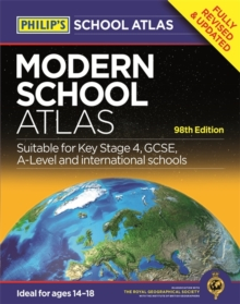 Philip's Modern School Atlas : 98th Edition, Paperback Book