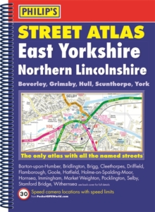 Philip's Street Atlas East Yorkshire and Northern Lincolnshire, Spiral bound Book