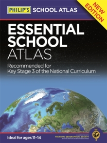 Philip's Essential School Atlas, Hardback Book