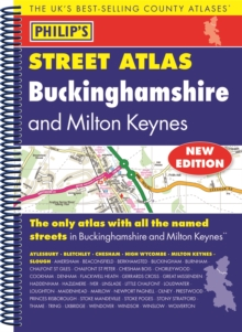 Philip's Street Atlas Buckinghamshire, Spiral bound Book