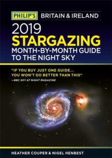 Philip's 2019 Stargazing Month-by-Month Guide to the Night Sky Britain & Ireland, Paperback / softback Book