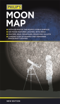 Philip's Moon Map 2018, Paperback / softback Book