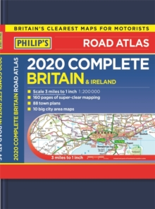 Philip's Complete Road Atlas Britain and Ireland : (De luxe hardback edition), Hardback Book