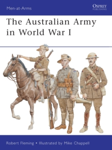 The Australian Army in World War I, Paperback / softback Book