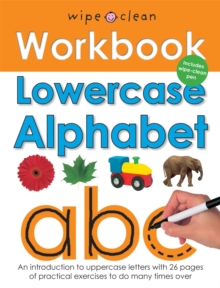 Wipe Clean Work Books : Lowercase Alphabet, Spiral bound Book