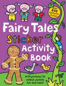 Fairy Tale Sticker Activity Book, Paperback Book