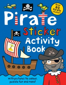 Pirate Sticker Activity Book, Paperback Book