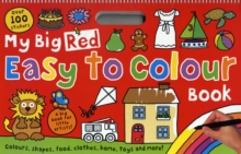 My Big Red Easy to Colour Book : My Big Easy To Colour Books, Paperback / softback Book