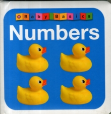 Numbers : First Concepts, Board book Book