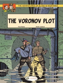 The Adventures of Blake and Mortimer : The Voronov Plot v. 8, Paperback Book