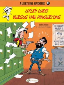 Lucky Luke Versus the Pinkertons, Paperback Book