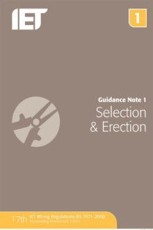 Guidance Note 1: Selection & Erection, Paperback Book