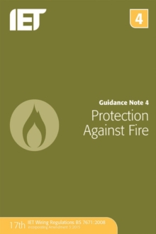 Guidance Note 4: Protection Against Fire, Paperback Book
