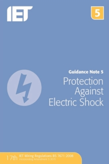Guidance Note 5: Protection Against Electric Shock, Paperback Book