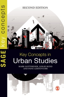Key Concepts in Urban Studies, Hardback Book