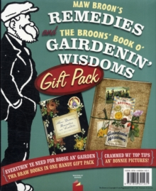 Maw Broon's Remedies and the Broons' Book O' Gairdenin' Wisdoms Gift Pack, Hardback Book