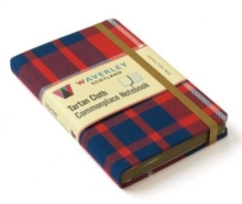 Hamilton Red: Waverley Genuine Tartan Cloth Commonplace Notebook, Hardback Book