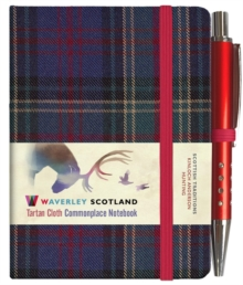 Hunting Tartan: Mini Notebook with Pen; 10.5 x 7.5cm: Scottish Traditions: Waverley Genuine Tartan Cloth Commonplace Notebook, Hardback Book