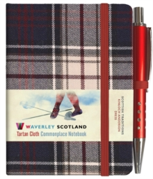 Dress Tartan Notebook: Mini with Pen: 10.5 x 7.5cm: Scottish Traditions: Waverley Genuine Tartan Cloth Commonplace Notebook, Hardback Book